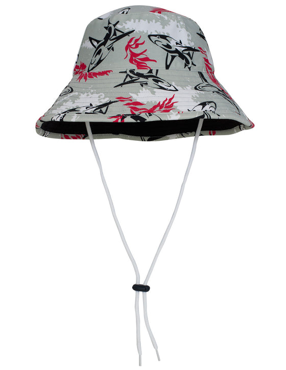 UV50+ Bucket Sun Hat-Carminio