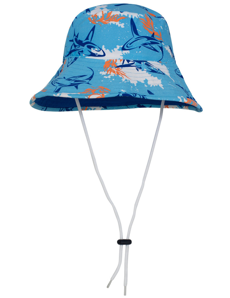 UV50+ Bucket Sun Hat-Fuego Blue