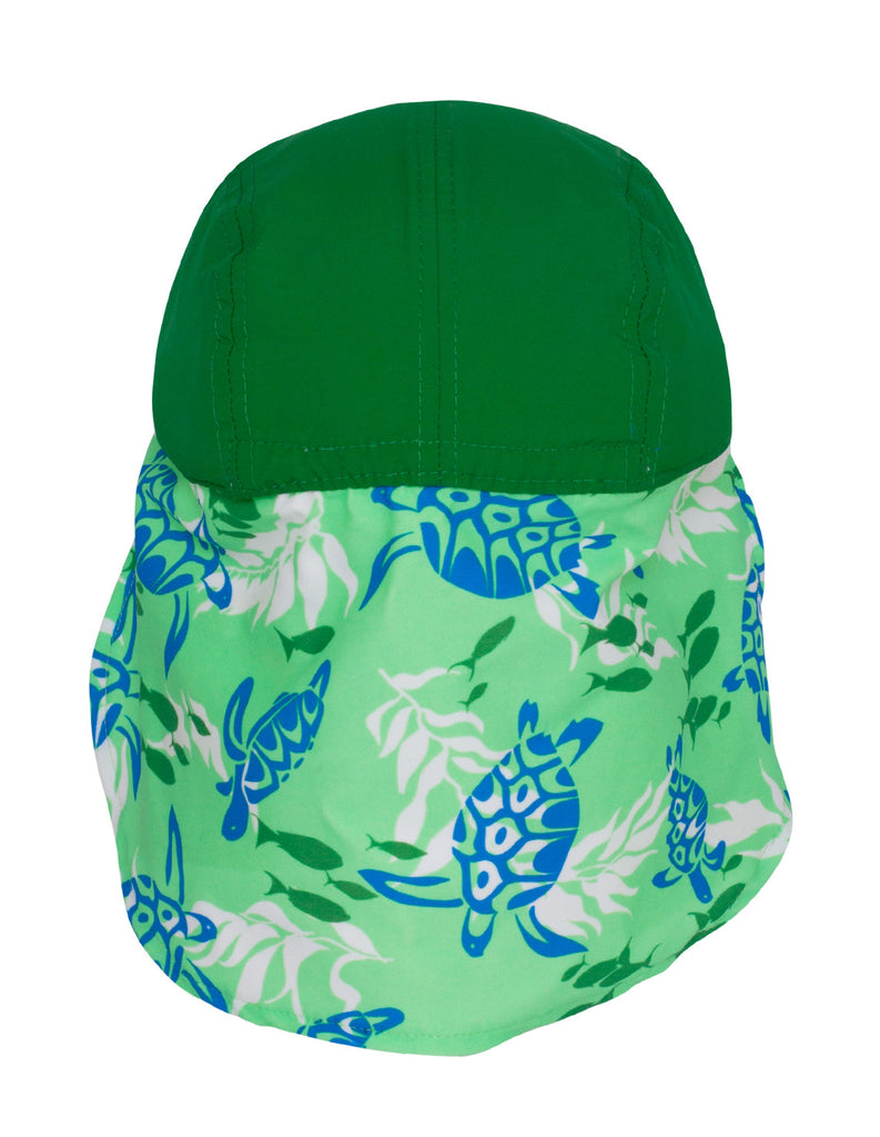 UV50+ Flap Hat-Moss Green