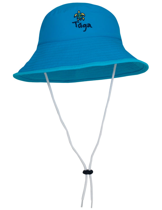 UV50+ Reversible Bucket Sun Hat-Blues