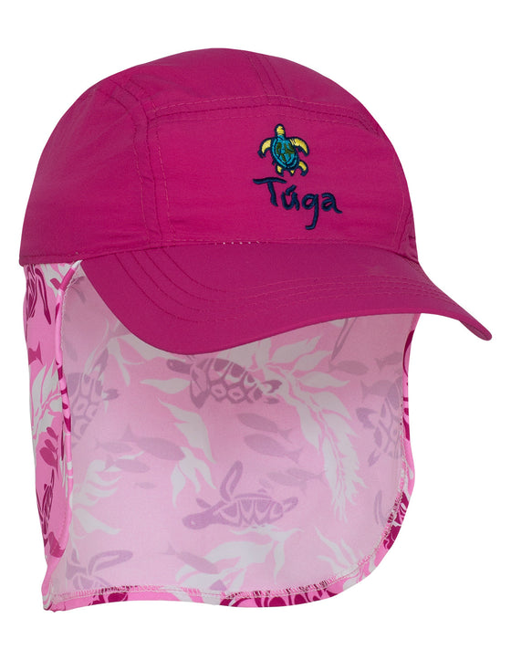 UV50+ Flap Hat-Cotton Candy