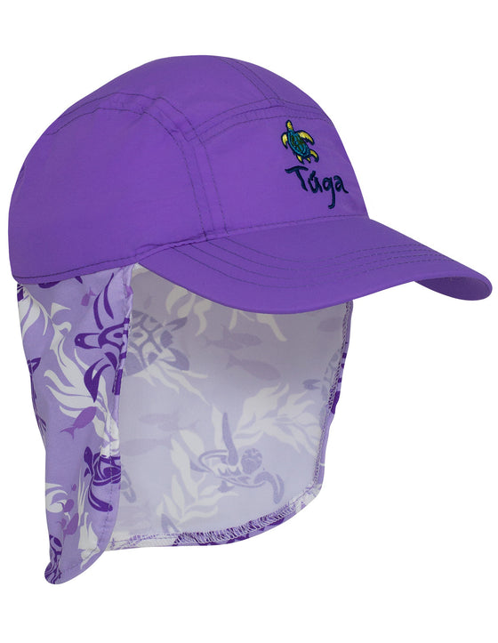 UV50+ Flap Hat-Amethyst