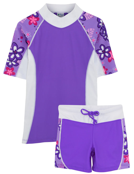 UV50+ Seaside & Swim Shorts-Violet