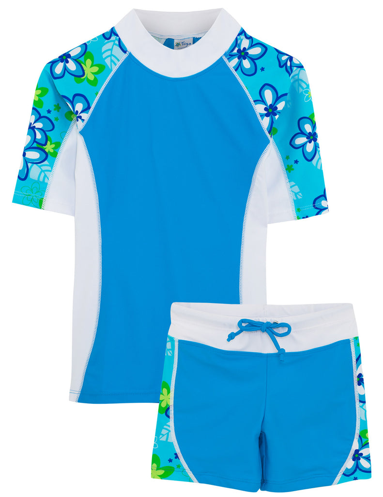 UV50+ Seaside & Swim Shorts-Aquamarine