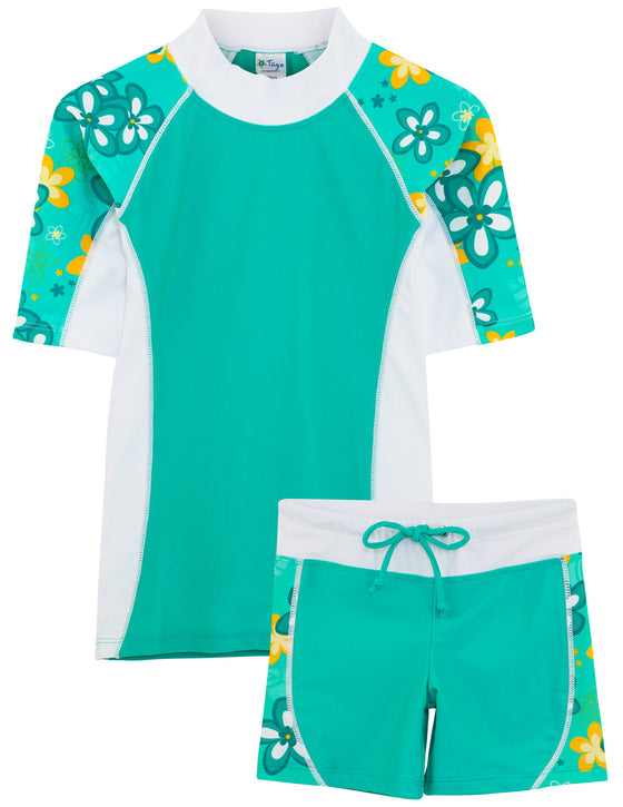 UV50+ Seaside & Swim Shorts-Seafoam