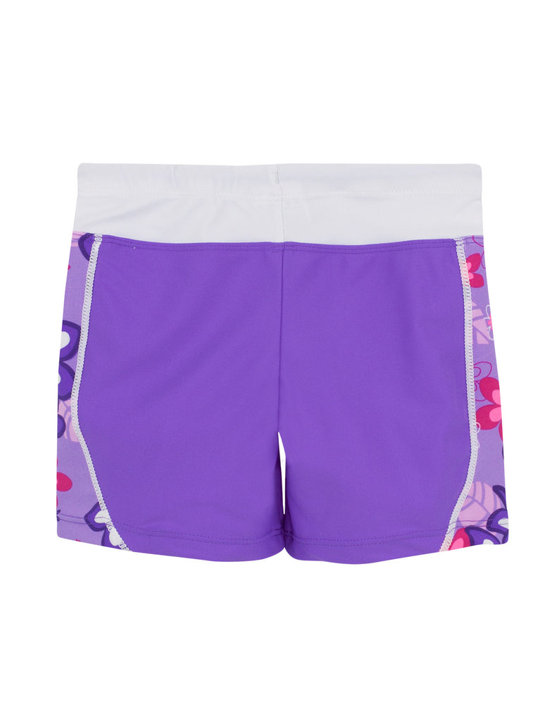 UV50+ Swim Short for Girls-Violet