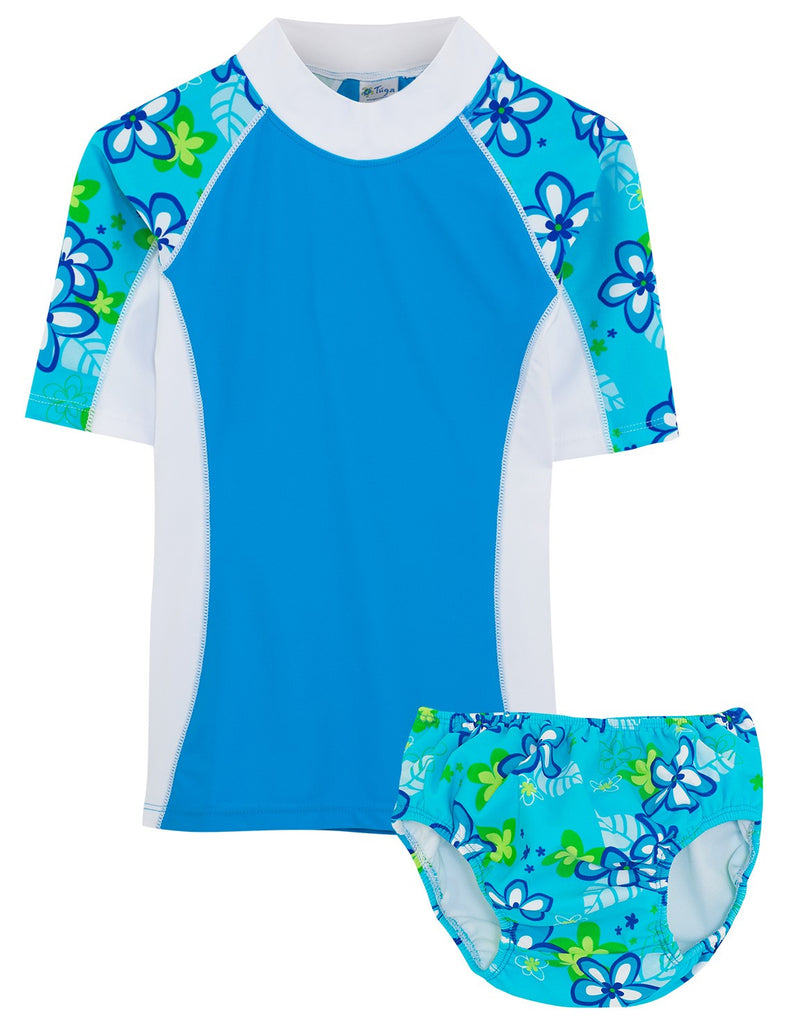 UV50+ Seaside & Swim Diaper-Aquamarine