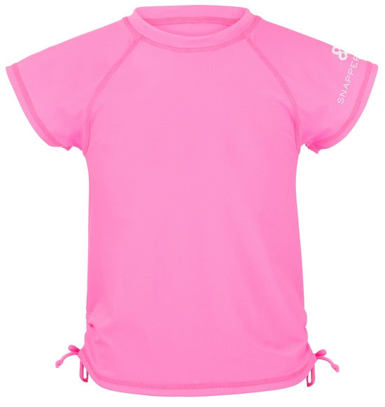 UV50+ Neon Pink Rash Top