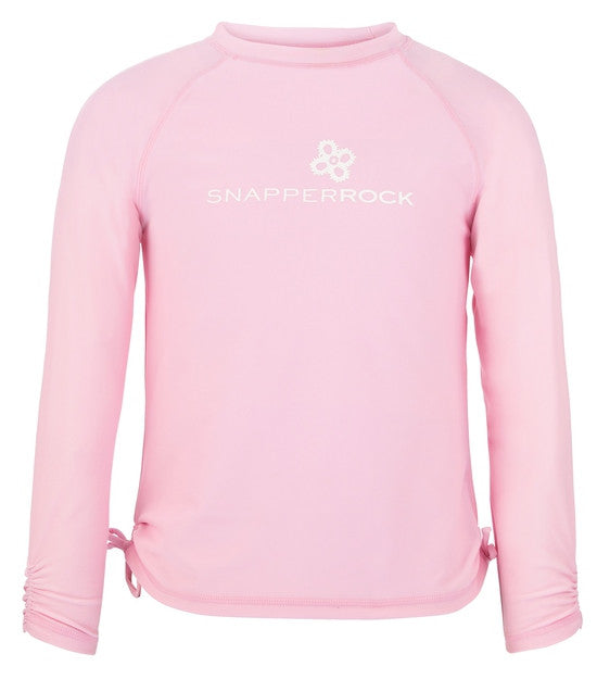 UV50+ Ballet Pink LS Rash Top