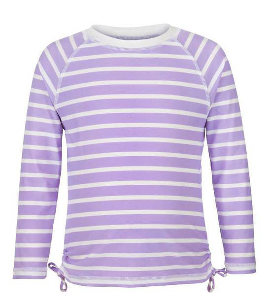 UV50+ Lavender Stripe LS Rash Top