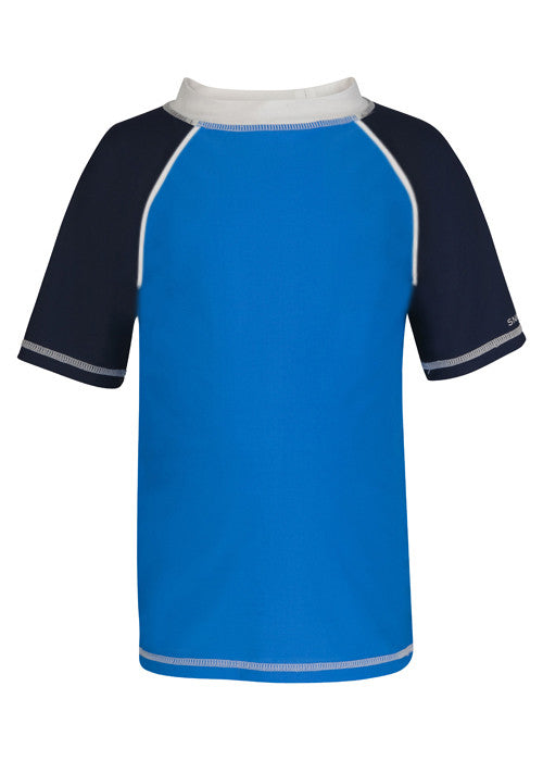 UV50+ Midnight Blue Short Sleeve Rash Top