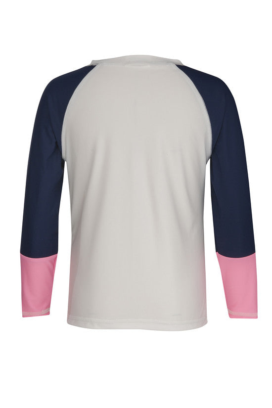 UV50+ Midnight Palm LS Rash Top