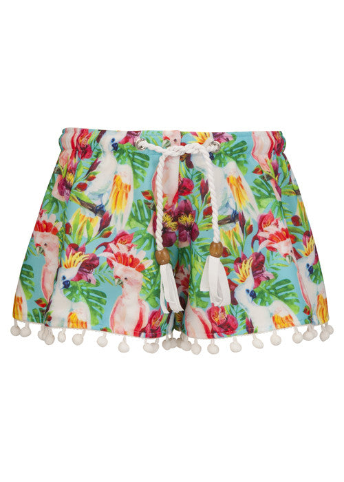 Tropical Birds Swim Shorts