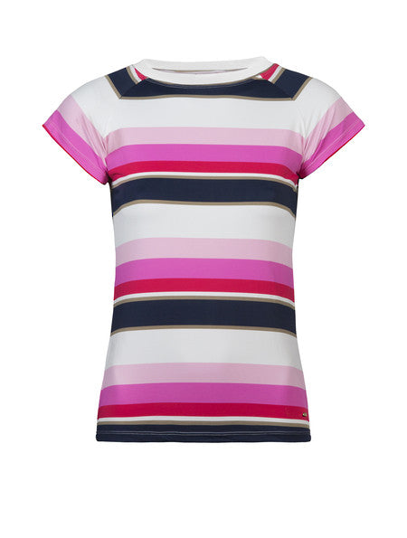 UV50+ Biscayne Stripe Short Sleeve Rash Top