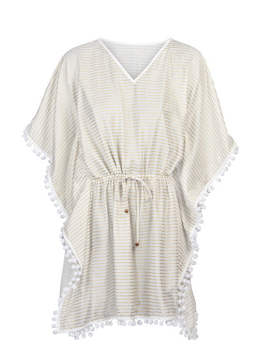 UV50+ Florence Stripe Batwing Kaftan for Women