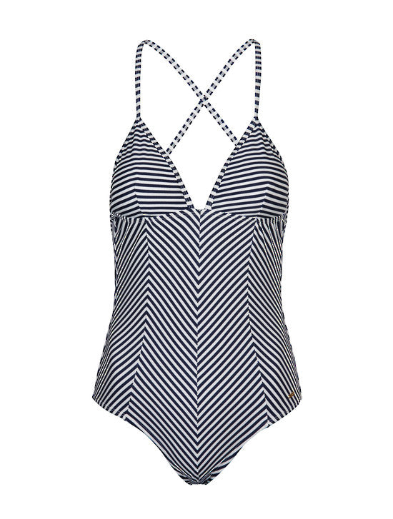 UV50+ Waiheke Stripe Classic Swimsuit