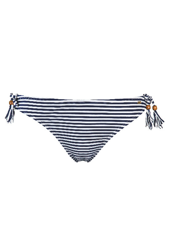 UV50+ Wiheke Stripe Triangle Bikini Bottom