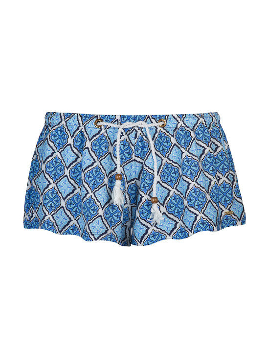UV50+ Navy Capri Swim Short