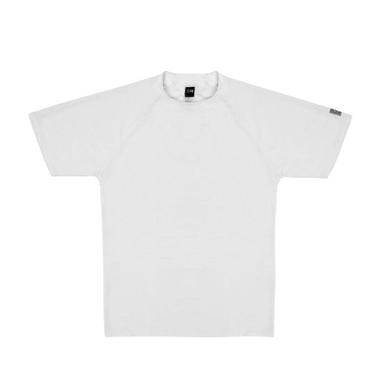 UV50+ White Short Sleeve Rash Top