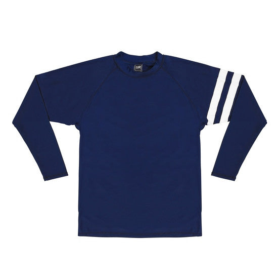 UV50+ Navy Arm Band Long Sleeve Rash Top