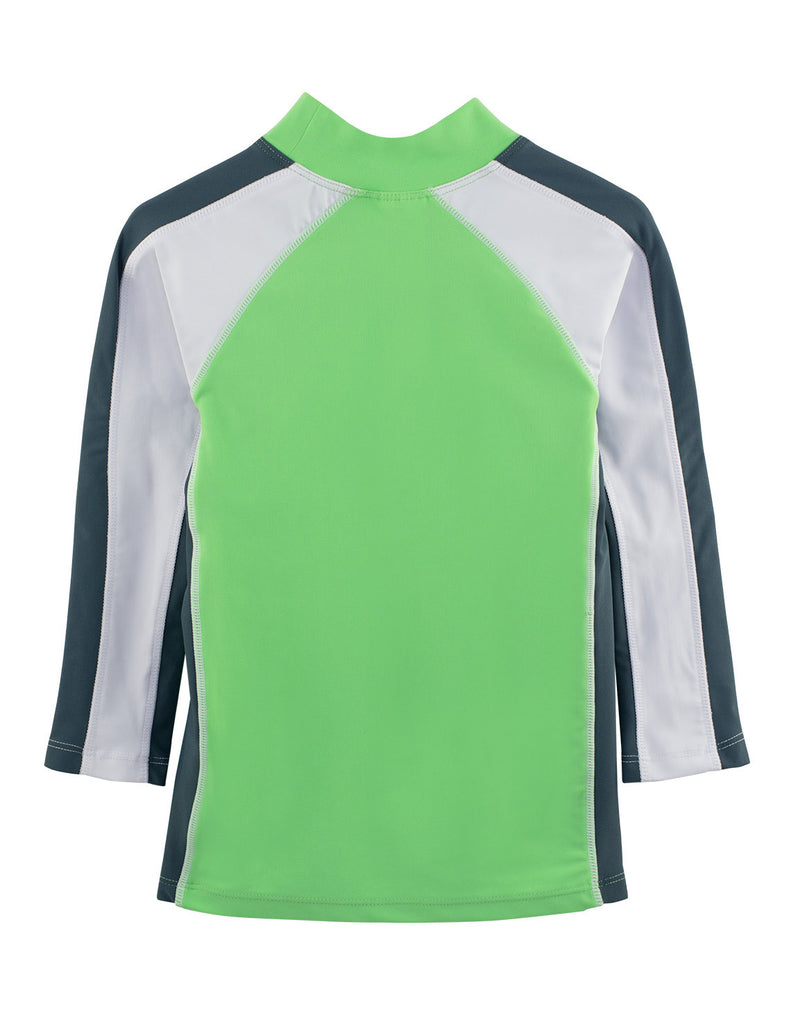 UV50+ Long Sleeve Swim Shirt-Mantis Lime-Chlorine Resistant