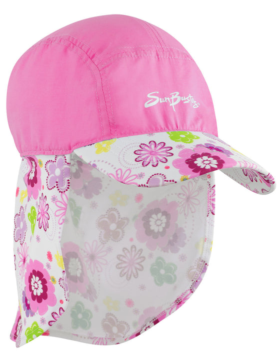UV50+ Flap Hat-Poppyberry