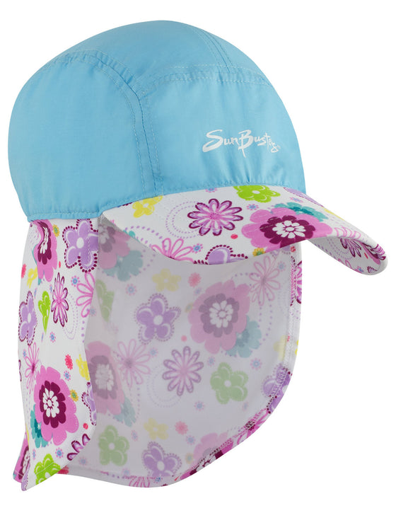 UV50+ Flap Hat-Mallowberry