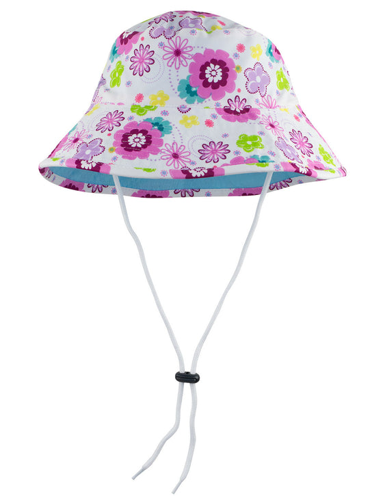 UV50+ Reversible Bucket Sun Hat-Mallowberry