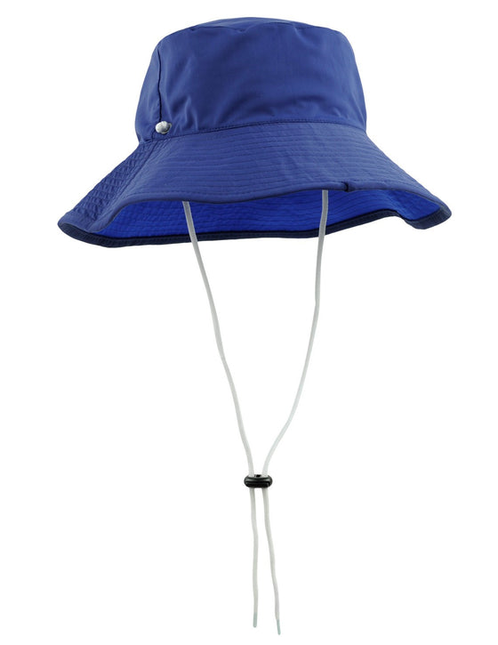 UV50+ Reversible Bucket Sun Hat-Navy/Royal