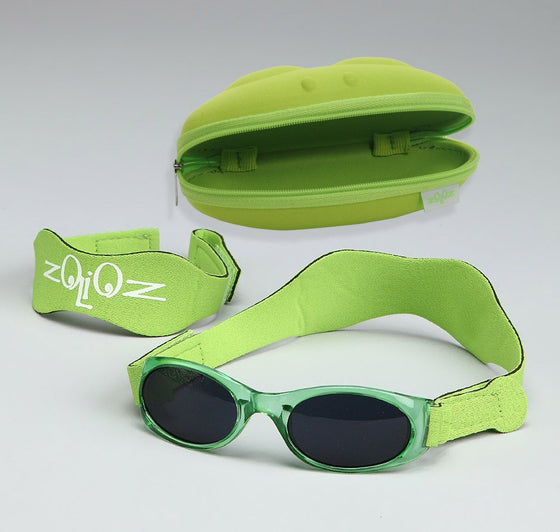 UV Sunglasses for Babies & Kids-Green