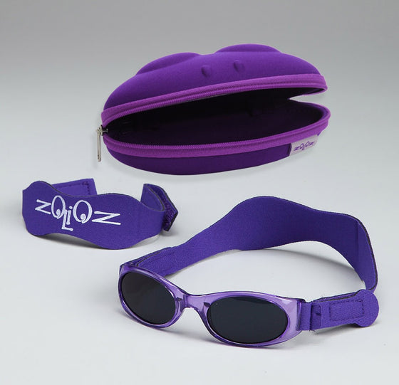 UV Sunglasses for Babies & Kids-Purple
