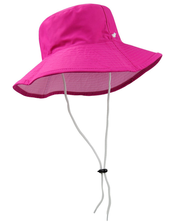 UV50+ Reversible Bucket Sun Hat-Pinks