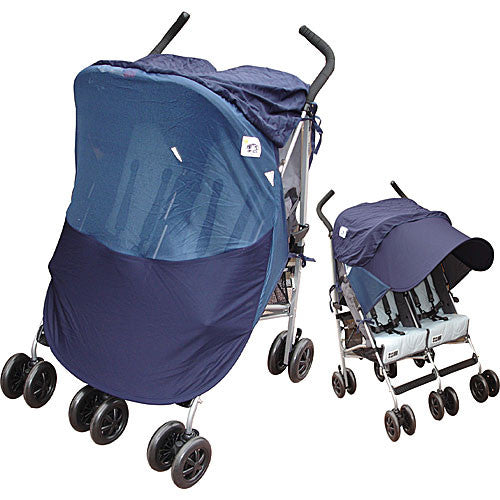 UV50+ DELUXE 2 in 1 TWIN Stroller Sunshade Attachment