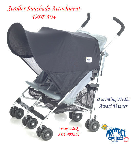 UV50+ TWIN Stroller Sunshade Attachment