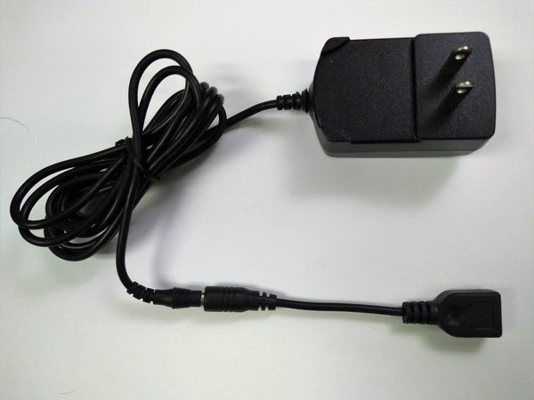 AC10W6-3 : 5v 2a AC charger with 6ft power cord w 3 usb connection types A, Mini; Type C