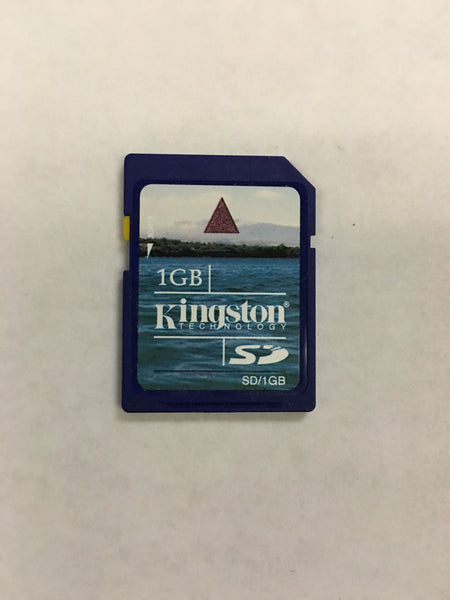 Kingston 1GB SD Memory card wih lifetime warranty and tech support