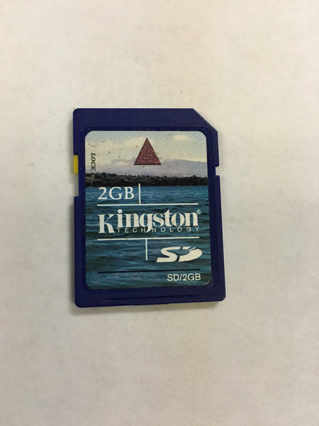Kingston 2GB SD card - with lifetime warranty and tech support