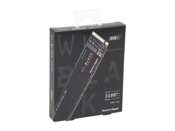 Western Digital WD BLACK NVMe M.2 2280 PCI-Express 3.0 x4 64-layer 3 - 4 sizes