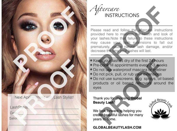 Aftercare Postcard