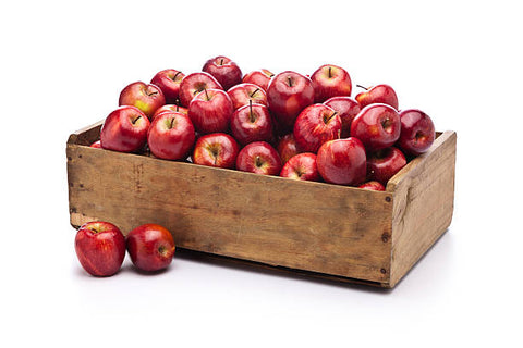 Case of Apples Red Delicious