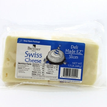 Cheese Swiss Sli 1.5#