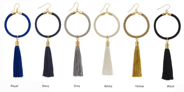 Dione Adjustable Tassel Necklace