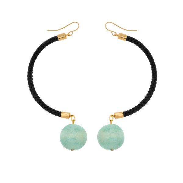 Nevada Turquoise Bead Earrings