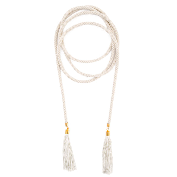 Long Tassel wrap Belt