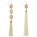 Phoebe Mismatched Tassel Earrings