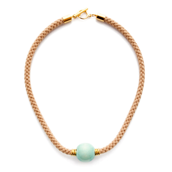 Neptune Cord Choker Necklace