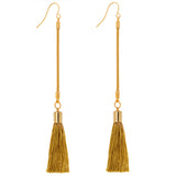 Norma Chain Tassel Earrings