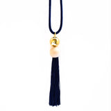Orion Long Cord Tassel Necklace