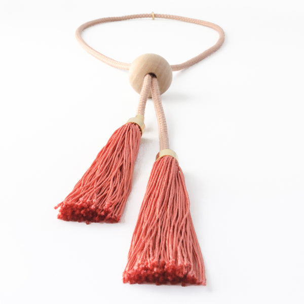 Adjustable Long Tassel Necklace