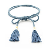 Delicate Cord Choker Necklace